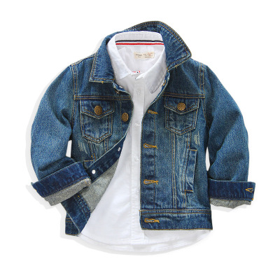 2017 New fashion hot sale children s clothes boys and girls high quality jean Jackets leisure