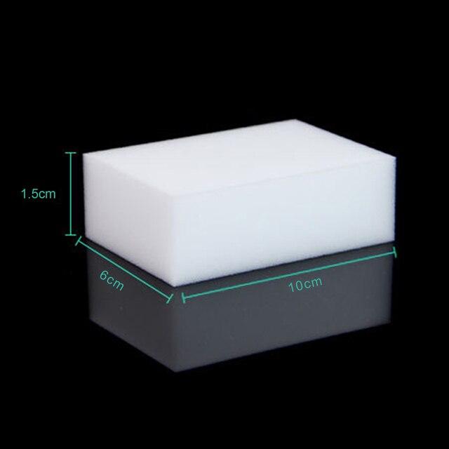 10 STÜCKE Weiß Magisches Schwamm-radiergummi-melamin-reinigungs Multifunktionale Küche Bad Reinigung Tools Nano Schwamm Neuankömmling