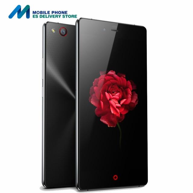 Nubia z9 max 4g lte smartphone qualcomm snapdragon 615 octa core 2 GB + 16 GB 8MP $ number MP NFC OTG 1920*1080 de 5.5 Pulgadas FHD Teléfono Móvil