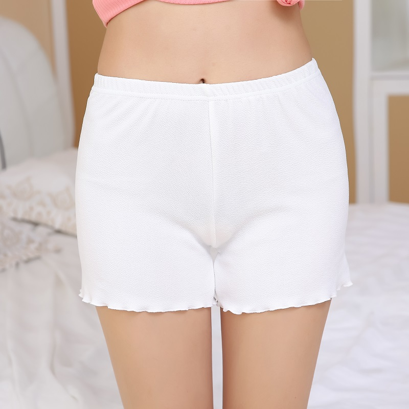 5 Color Summer Hot Sexy Fashion Girl Lotus leaf Short Safety Pants shorty  femme sex shop para homens women underwear -in Safety Short Pants from  Underwear ...