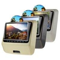 Светодио дный автомобильные аксессуары 9 поворотный HD LED Активный подголовник dvd плеер с HDMI