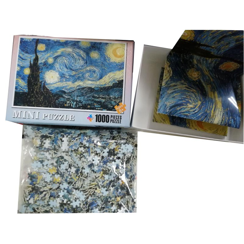 """Image 5 - 1000 Pieces A3 Mini Smallest Landscape Paper Puzzle Difficult Toys Adults Jigsaw Puzzle Students DIY Gift(Size 14.9""""x 10.2)-in Puzzles from Toys & Hobbies"""