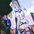 OHCOS Re:Zero kara Hajimeru Isekai Seikatsu Emilia Cosplay Costum Party Dress Goods in stock