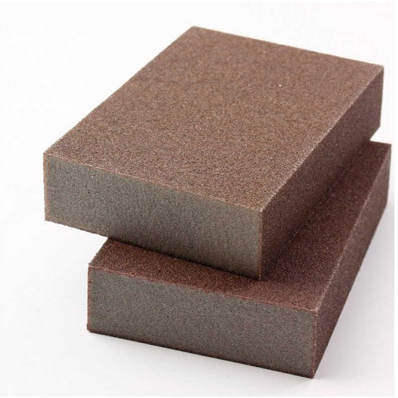 Carborindón cepillo esponja para cocina herramienta de lavado óxido limpiador de limpieza cocina hogar óxido limpiador de limpieza de manchas