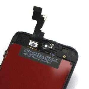Image 4 - 10pcs Tutti Testati AAA CRISTALLI LIQUIDI Per il iPhone SE Display LCD con Vetro Touch Screen Digitizer Assembly Per il iPhone SE lcd di qualità AAA