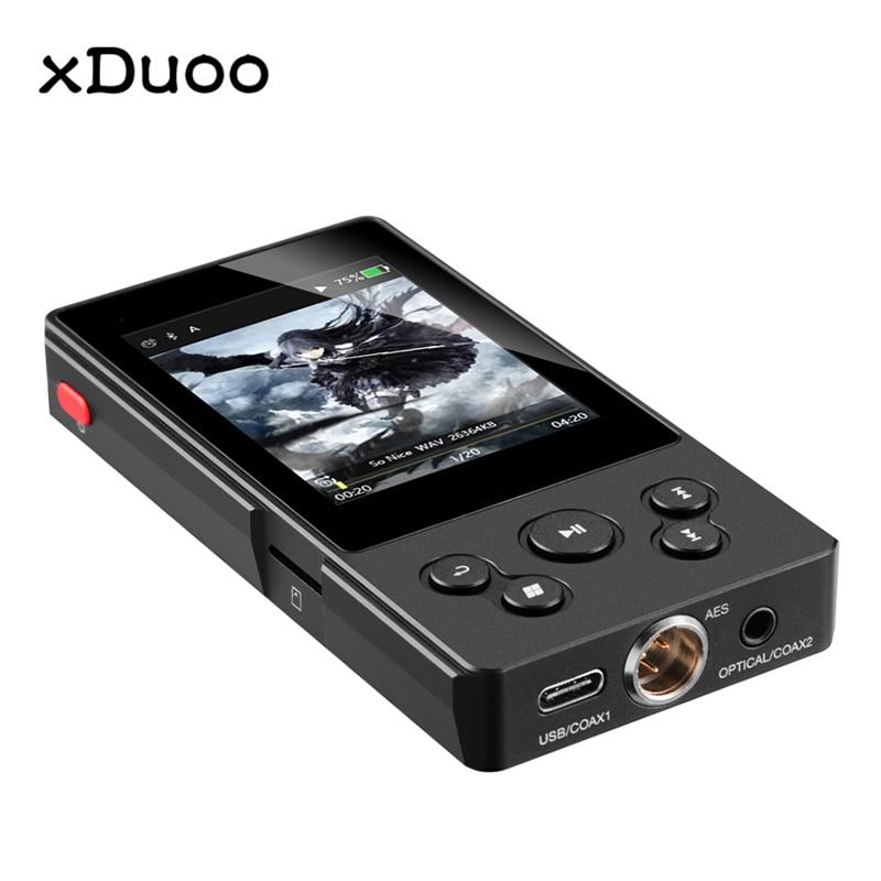 XDUOO X10T II DSD128 PCM 384 KHz/32Bit X10TII haute Performance sans perte musique Bluetooth platine numérique lecteur MP3
