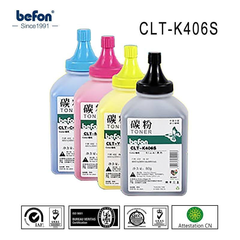 K406S befon Ricarica Toner a colori In Polvere compatibile per CLT-K406S 406 S 406 P360 360 365 366 CLS3305 3305 3300 3306fn 3306 C410W