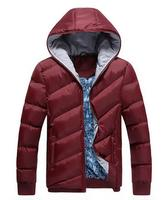 Speed Hiker Men Winter Jacket 2016 New Winter Jacket Men Hooded Parkas Casual Comfortable Solid Color