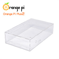 Orange Pi Transparent  Acrylic Case suitable  for  Plus 2 not for Raspberry