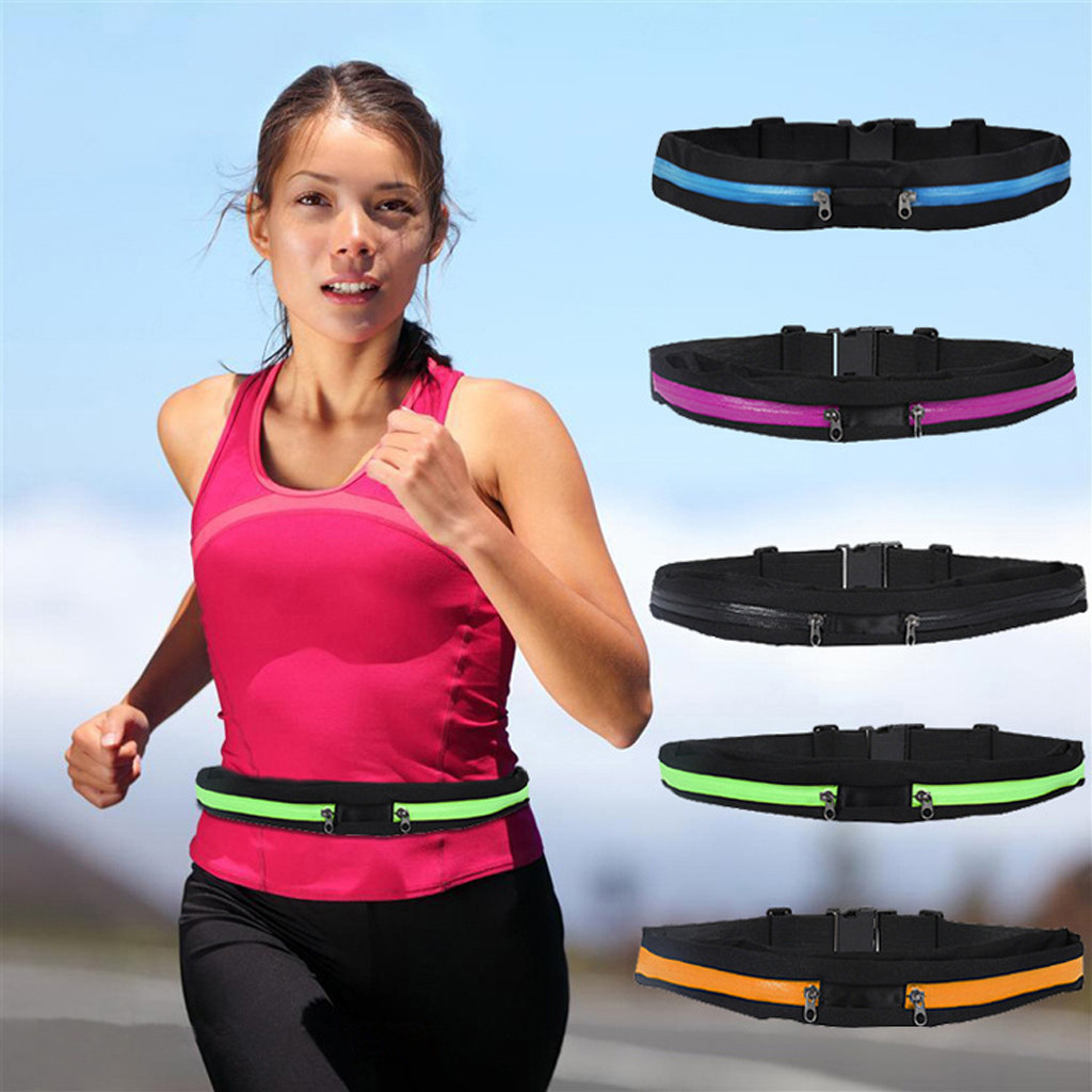 Unisex Travel Running Cycling Waist Sports Pack Belt  Multifunctional Waterproof #20