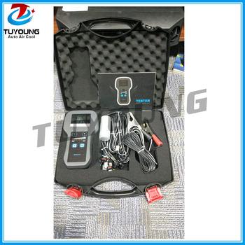 Kendaraan Kompresor AC Kontrol Elektronik Valve Test Tester dengan Tertentu Adaptor