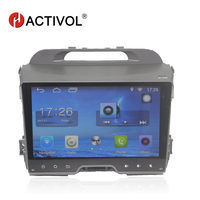 HACTIVOL 9 Quad core car radio for KIA SPORTAGE R 2010 2011 android 7.0 car dvd gps player with 1G RAM 16G ROM