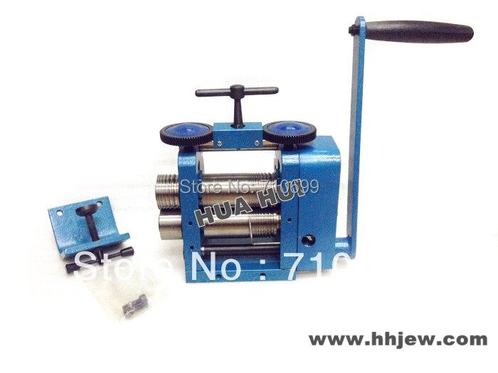 Bonne qualité HUAHUI laminoir russe laminoir à rouleaux, outils de fabrication de bijoux et équipement HUAHUI outils de moulage