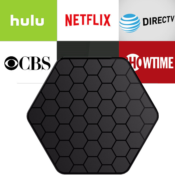 T95Z Plus 2/16G android box with 1 year Netflix/HULU/Directv/CBS account warranty work in Set top box Smarttv smartPhone excook cbs 33