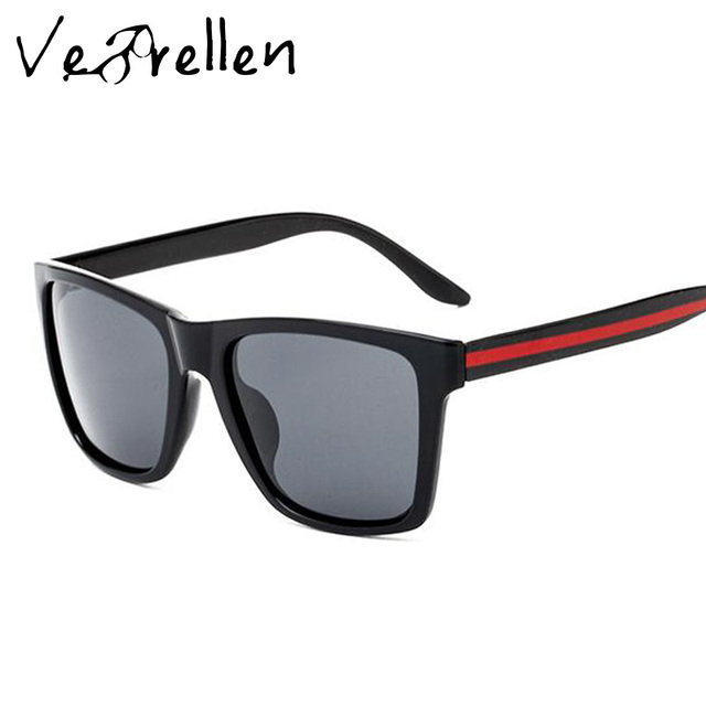 419b83558c1 VeBrellen Brand Polarized Square Sunglasses Men Women Elastic Classic Frame  Sun Glasses Male Driving Eyeglasses With Box VJ097