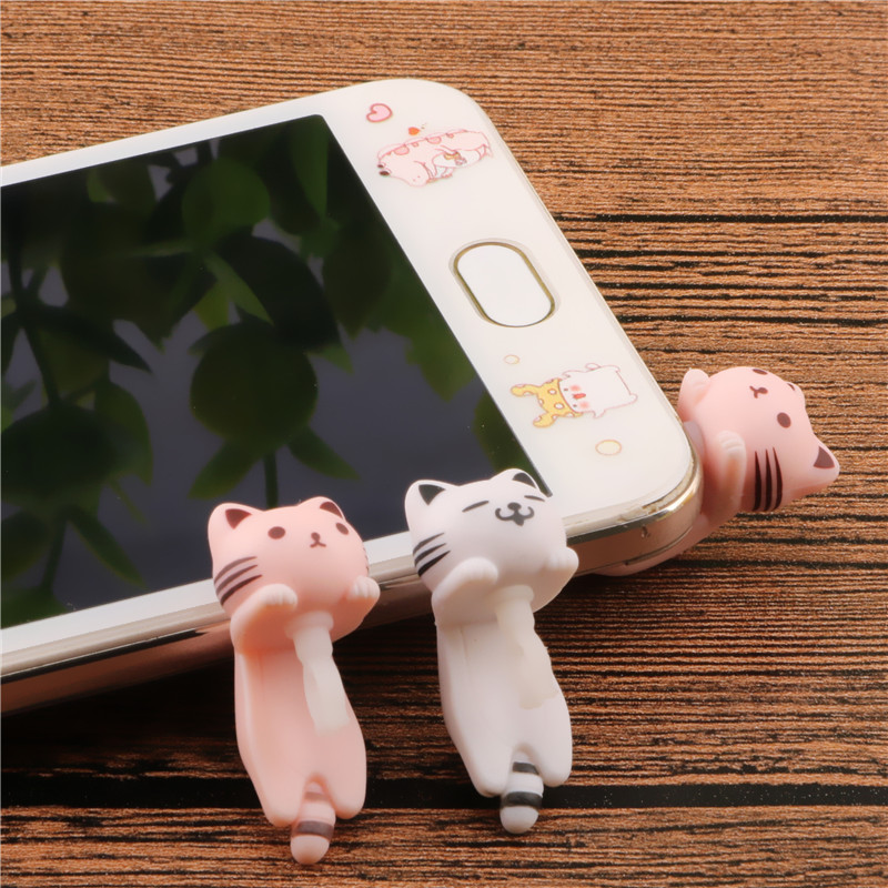 SIANCS Cat 3.5MM Mobile Phone Earphone J