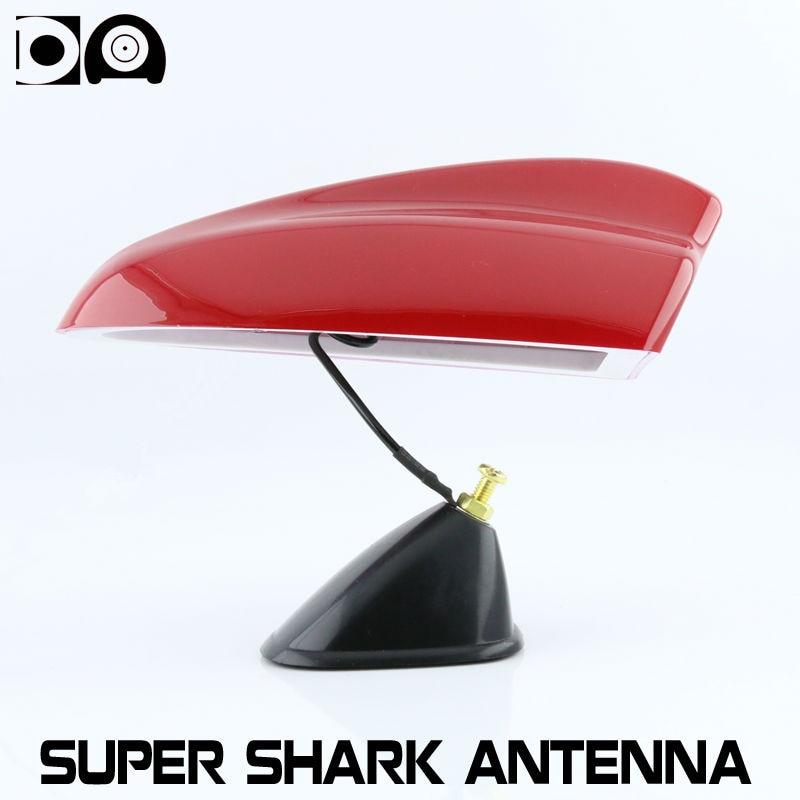 Super tubarão fin antena antenas de rádio de carro com 3 M de adesivo especial para Fiat Freemont