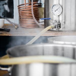 Image 5 - Vanne à bille en acier inoxydable sans fil, vanne à bille compacte de 1/2 pouces, pour bouilloire compacte, brassage à domicile