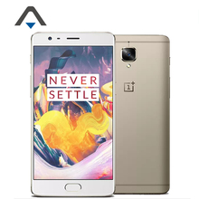 "Ursprüngliche oneplus 3 t oneplus 3 t android 7.0 handy snapdragon 821 quad core 4g lte 5,5 ""RAM 6 GB ROM 64 GB 16.0MP NFC Touch"