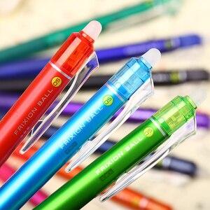 Image 4 - 5/10pcs  Pilot FriXion Color Erasable Gel Pen LFBK 23EF 0.5mm 10 Colors To Choose From, Erasable Ink Student Stationery