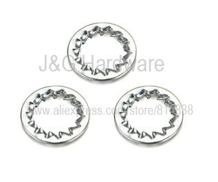 Wkooa M6 Serrated lock washers internal teeth 4000 pieces