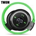 Twom Q5 беспроводной спорт 4.0 гарнитура с микрофоном для мобильного телефона стерео запуск шейным динамик карты памяти