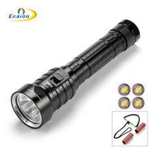 SolarStorm Upgrade version DX4S Diving Flashlight 4 xcree XML U2 100 Meters 3200 Lumens Suitable for outdoor sports, diving solarstorm upgrade version dx4s diving flashlight 4 xcree xml u2 100 meters 3200 lumens suitable for outdoor sports diving