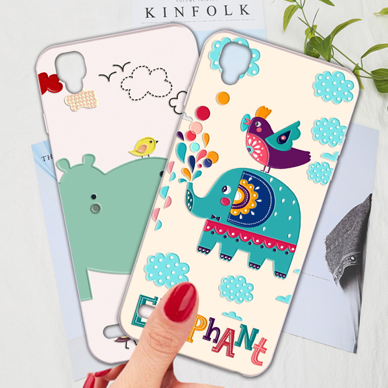 Silicone Phone <font><b>Case</b></font> For <font><b>OPPO</b></font> <font><b>A35</b></font> <font><b>Case</b></font> Cartoon Cute Animal Fresh Phone Bag Shell For <font><b>OPPO</b></font> F1 Cover image