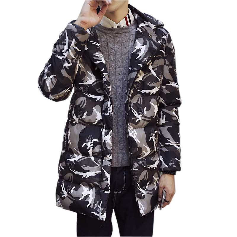Подробнее о Men Coat Winter Parka Men Thick Warm Wadded Jacket Camouflage Overcoat large Cotton-padded Jacket Long Outwear Plus Size M- 3XL men winter jacket new men warm parka thick long casual jackets men down outwear comfortable cotton hooded parka plus size m 4xl