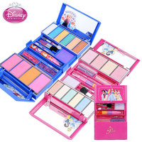 Disney Children's Makeup Set Girl Princess Make up Box Safety Non toxic Frozen Sophia Lip Gloss Cosmetic Toy Kids Christmas Gift