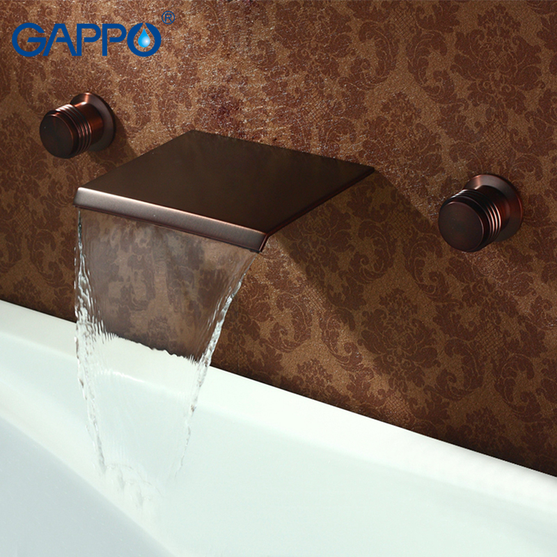 GAPPO Basin Faucet basin mixer tap waterfall bathroom mixer shower faucets bath water mixer Deck Mounted Faucets taps contemporary modern japanese american style triangle kitchen light house lighting led ceiling lamp for teens bedroom dining room