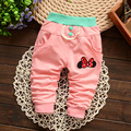 2016 New Spring Autumn baby pants 4 color cotton star pattern kids pants baby girls pants