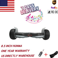 US stock 8.5 inch 500w*2 Hummer Hoverboard Self Balancing Skateboard Electric Scooter stand up overboard super motor HoverBoard