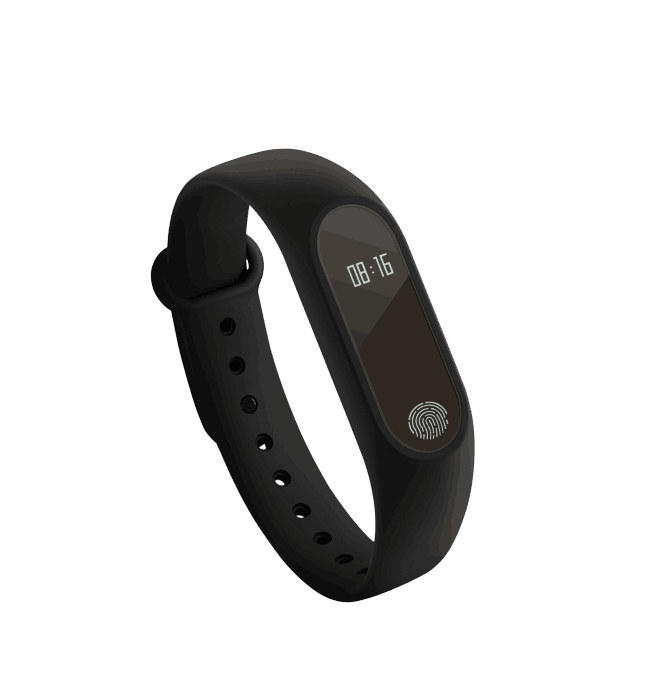 696 neue Smart Band M2 Bluetooth Smart Armband Herz Rate Monitor Fitness Tracker Pedometer Armband für Android IOS