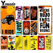 Yinuoda Off-road tire track Customer High Quality Phone Case for Apple iPhone 8 7 6 6S Plus X XS MAX 5 5S SE XR Cover yinuoda demi lovato customer high quality phone case for apple iphone 8 7 6 6s plus x xs max 5 5s se xr mobile cover