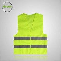 Artı boyutu yansıtıcı yelek çalışma kıyafetleri yüksek görünürlük gündüz gece uyarı güvenlik yelek trafik inşaat güvenlik giyim