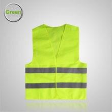Chaleco reflectante de talla grande, ropa de trabajo de alta visibilidad, seguridad de advertencia de día y noche, para construcción de tráfico