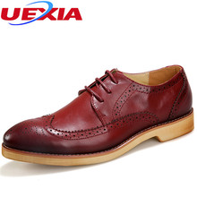 Classic Men Dress Black Luxury Lace-up Men's Business Casual Shoes Leather Flats Shoes Mens Formal Oxfords Party Wedding Shoes