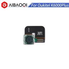 AiBaoQi جديد الأصلي Oukitel K6000 زائد 16.0MP الكاميرا الخلفية أجزاء إصلاح الكاميرا الخلفية لاستبدال الهاتف Oukitel K6000 Plus