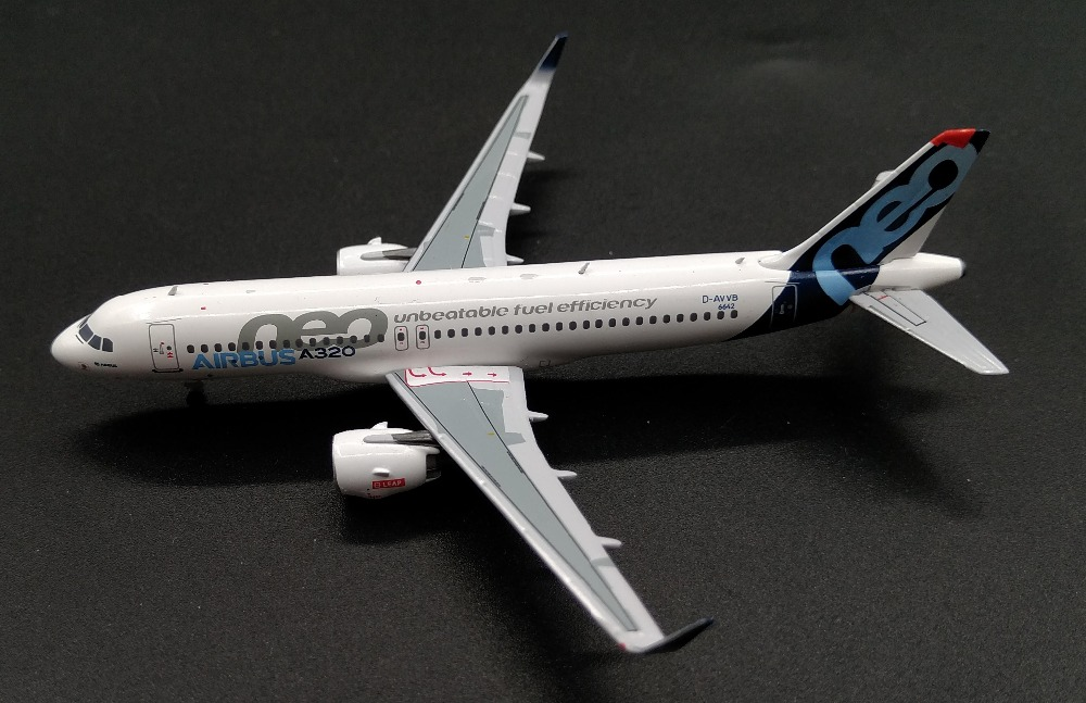 PM 1:400 Airbus A320NEO D-AVVB prototype Alloy model Collection model Holiday gift ph 1 400 lufthansa german airlines airbus a380 alloy aircraft model d aimn