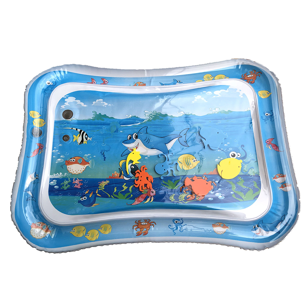 Outdoor Baby Patted Pad Inflation Cushion Water Cushion Pad Creative Party Play Game Splash Pat Mat Baby Prostrate Use Toys