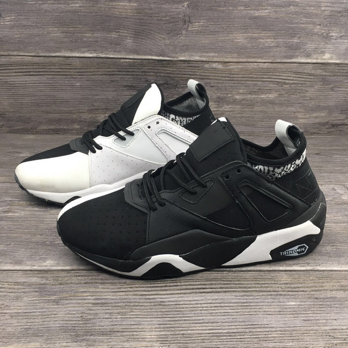 New Arrival  Black With White Colors PUMA Mens shoes Breathable Sneakers Badminton Shoes