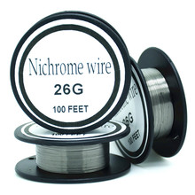 Nichrome wire 26 Gauge 100 FT 0.4mm Cantal Resistance Resistor AWG   DIY atomizing core