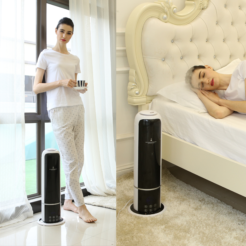 Advanced intelligence humidifier bedroom Air aroma machine Large capacity essential oil diffuser Intelligent wet humidification salter air fryer home high capacity multifunction no smoke chicken wings fries machine intelligent electric fryer