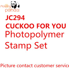 JC294 CUCKOO FOR YOU  Metal Cutting Dies And Stamps New 2019 Scrapbook Stamping Craft Diy Embossing Album Stencil Template