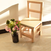 Creative Paper Stools Waterproof Children's Chairs Paper Furniture Simple Children's Learning Chairs Kids Furniture
