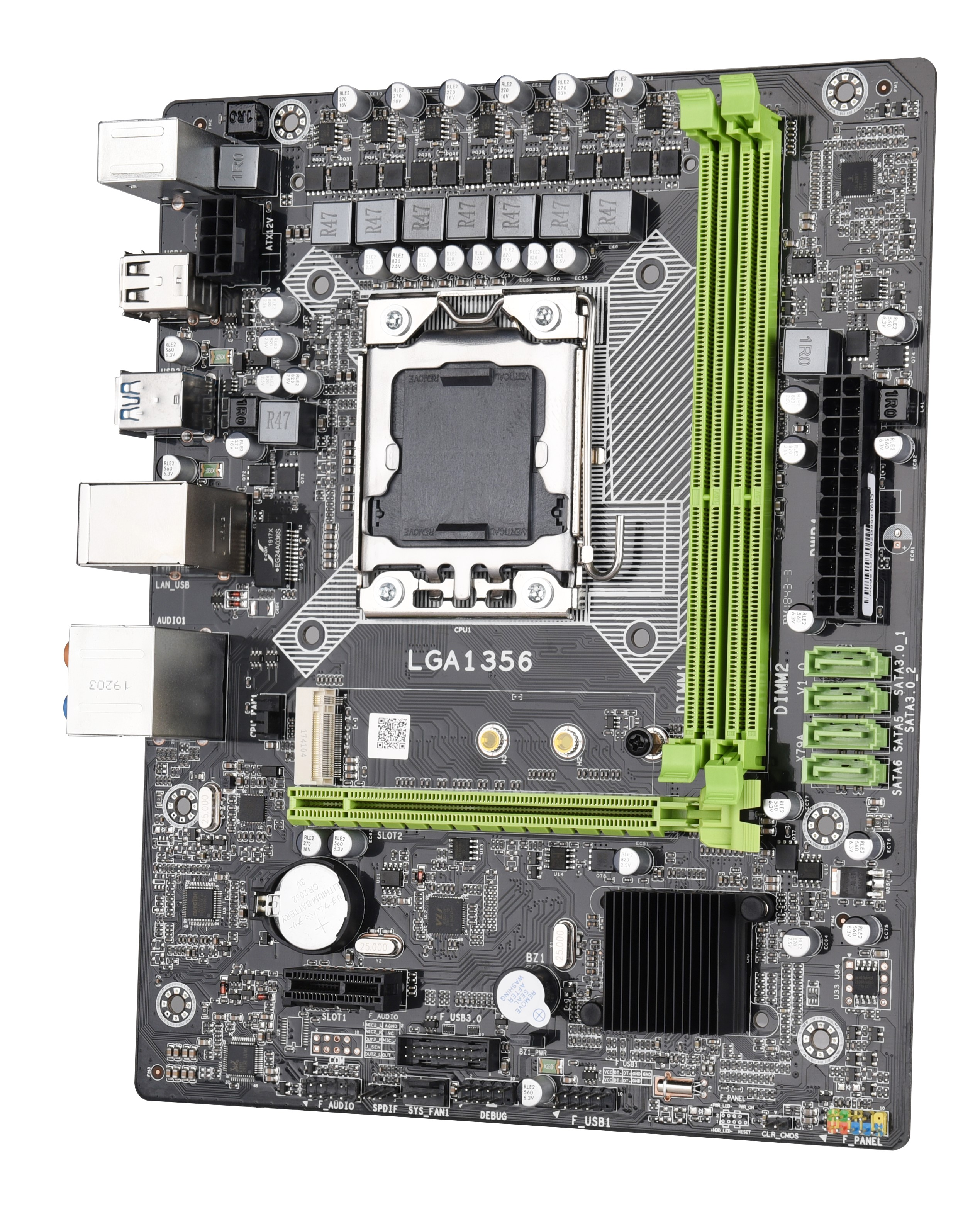 Image 2 - X79A Lga 1356 Motherboard Usb3.0 Support Reg Ecc Server Memory And Lga1356 Xeon E5 Processor For Desktop Server Ddr3 Ecc Reg R-in Motherboards from Computer & Office