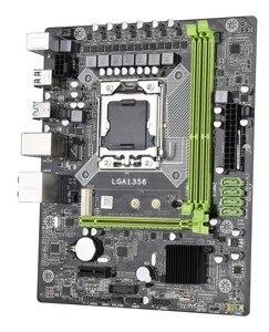 Image 2 - اللوحة الام X79A Lga 1356 Usb3.0 يدعم ذاكرة خادم Reg Ecc ومعالج Lga1356 Xeon E5 لخادم سطح المكتب Ddr3 Ecc Reg R
