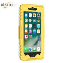 Kisscase для iPhone 6 6 S 7 Водонепроницаемый чехол для iPhone 6 Plus 6 S плюс 7 Plus прозрачный чехол Плавание Серфинг Дайвинг телефон случаях