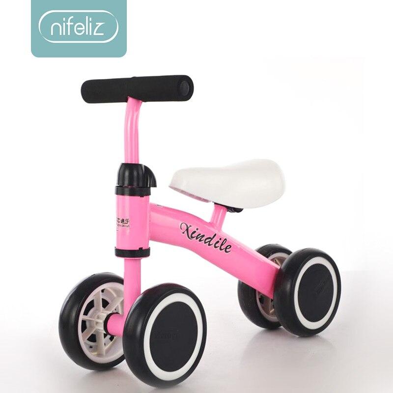 Bébé Balance vélo marcheur enfants monter sur jouet cadeau pour 10-24 mois enfants pour l'apprentissage marche Scooter